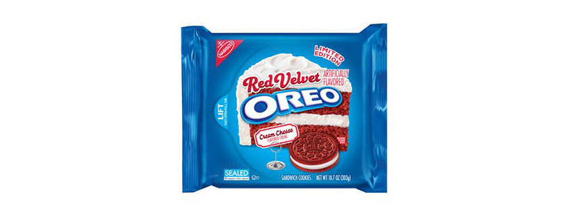 Red Velvet Oreo Cookie